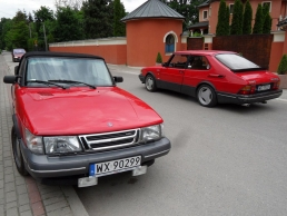 Saab 900 Aero MY91 Viking Old and New at Andrzej Zaborowski
